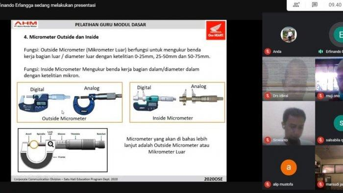 Info Honda Jambi, Tingkatkan Skill Kompetensi, Sinsen Gelar Pelatihan Puluhan Guru SMK Binaan