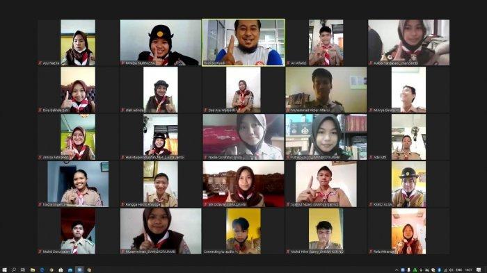 Diikuti Puluhan Anggota Kwartir Daerah Gerakan Pramuka Jambi, Sinsen Gelar Webinar Safety Riding