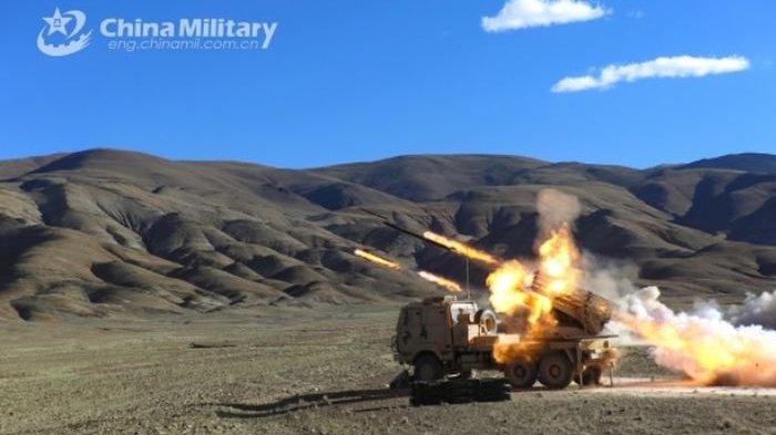CHINA Lagi-lagi Bikin Rivalnya Melongo, Pamer Senjata Artileri Terbaru dengan Sasis Lapis Baja
