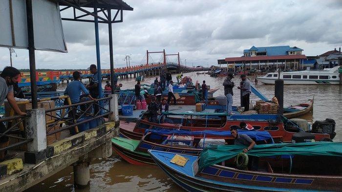 Arus Penumpang Pelabuhan Tanjabbar Mulai Ramai, di Pelabuhan LLASDP Melonjak 20 Persen