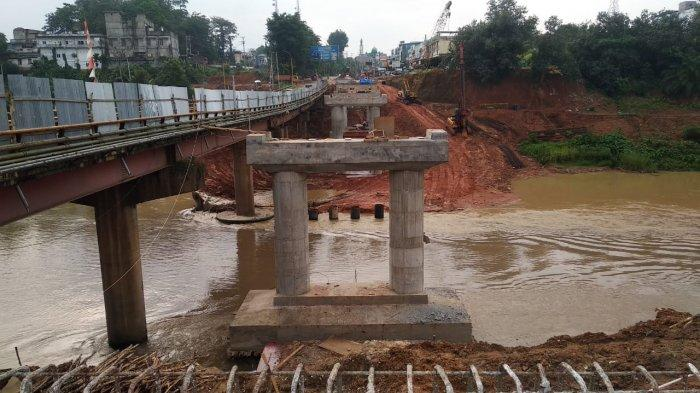 Pembangunan Duplikat Jembatan Merangin Main Libas Sampai Pipa Air Minum Terputus Bikin Perumda Kesal