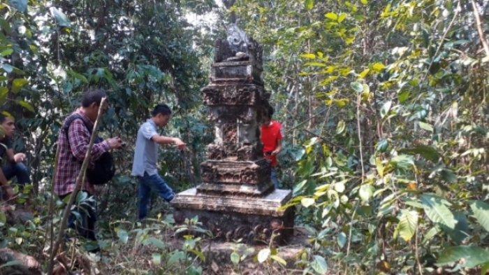 Menelusuri Jejak Hindu di Kecamatan Limun, Warga Duga Makam Keramat, Ini Kata BPCB