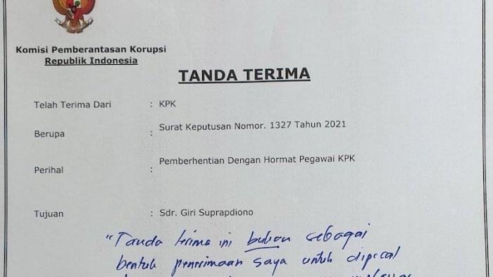 56 Pegawai KPK Tak Lulus TWK Dipecat, Direktur Nonaktif Lakukan Perlawanan