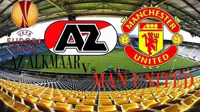 Skor Masih 0-0, Live Streaming Az Alkmaar vs Manchester United Liga Europa, Laga Berjalan Sengit