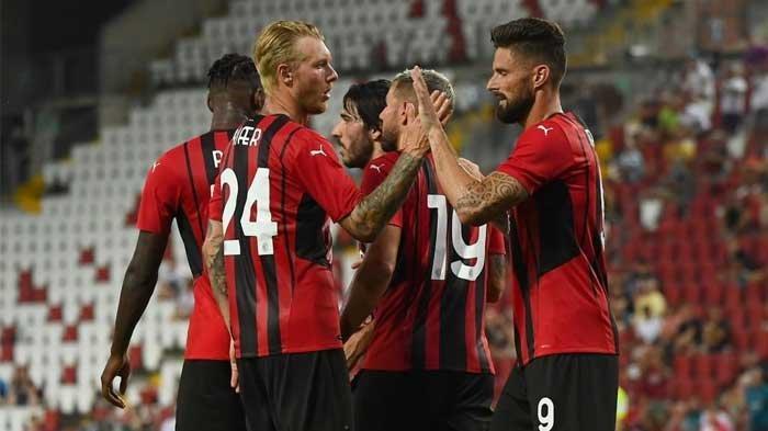 Skuad AC Milan musim 2021/2022