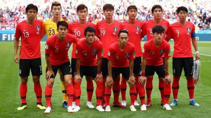 Skuad Korea Selatan di Kualifikasi Piala Dunia 2022
