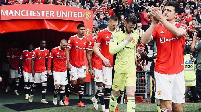 Skuad Manchester United yang akan menjamu Aston Villa di Old Trafford