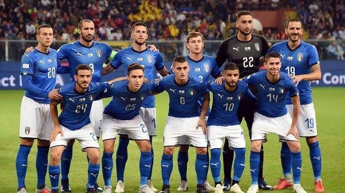 Jelang Kualifikasi Piala Dunia 2022, Ini Daftar Skuad Timnas Italia yang Dibawa Roberto Mancini