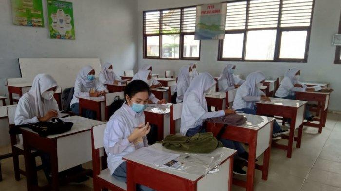 Pembelajaran Tatap Muka Terbatas di SMAN 2 Muarojambi Tetapkan Prokes Ketat