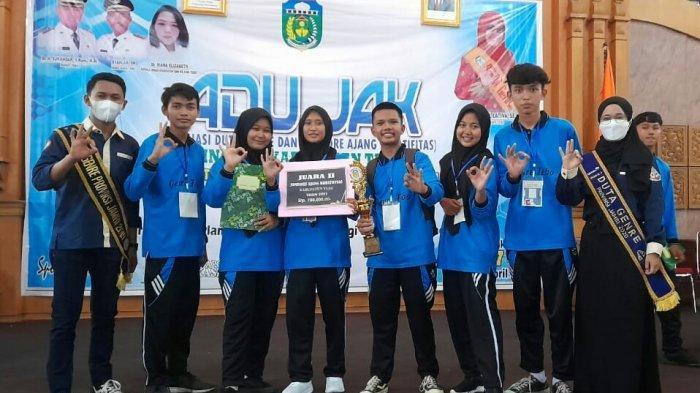 SMAN 3 Tebo Raih Juara 2 Jambore Gendre Tingkat Kabupaten