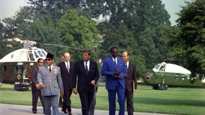 Masuk Daftar CIA, Nama Soekarno Muncul di Dokumen Kematian John F Kennedy, Ini Isinya
