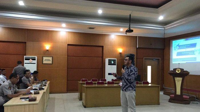Personil Polda Jambi Hadiri Sosialisasi BPJS Kesehatan di Balai Siginjai