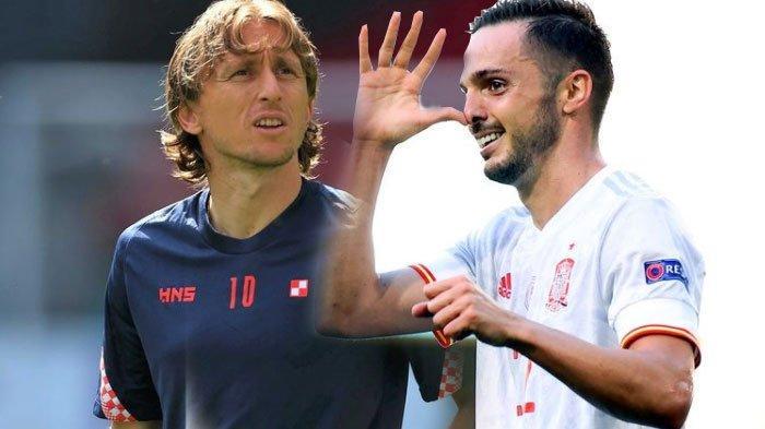 Sedang Tayang Link Streaming EURO 2020 Babak 16 Besar Kroasia vs Spanyol 28 Juni 2021 Malam Ini