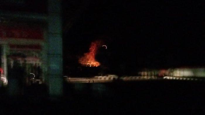SPBU Sungai Bengkal Nyaris Terbakar, Api Muncul dari Genset