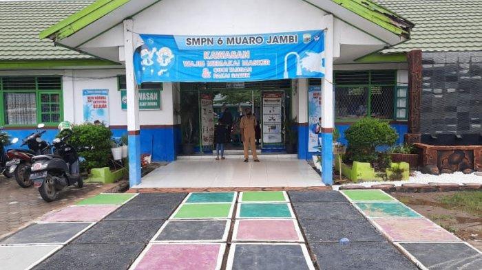 Masa Pengenalan Lingkungan Sekolah, di SMPN 6 Muarojambi Dilakukan Secara Tatap Muka