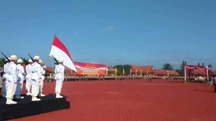 Irjen Pol A Rachmad Wibowo Pimpin Upacara Pelantikan Bintara Polri di SPN Jambi