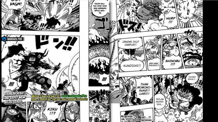 SUDAH RILIS! Cek Link Baca Manga One Piece Chapter 993, Cerita Lengkap Kaido Bisa Tebas Tangan Kiku
