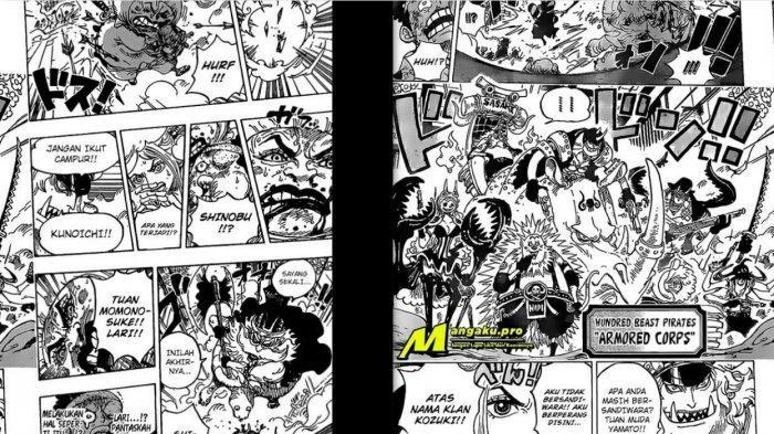 Spoiler manga One Piece chapter 993