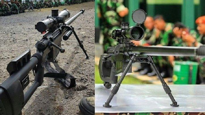 SPR-2 senapan sniper Kopassus buatan PT Pindad