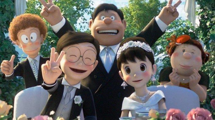 Kisah Haru Perjalanan Panjang Doraemon, Nobita Sempat Kabur Saat Hari Pernikahan