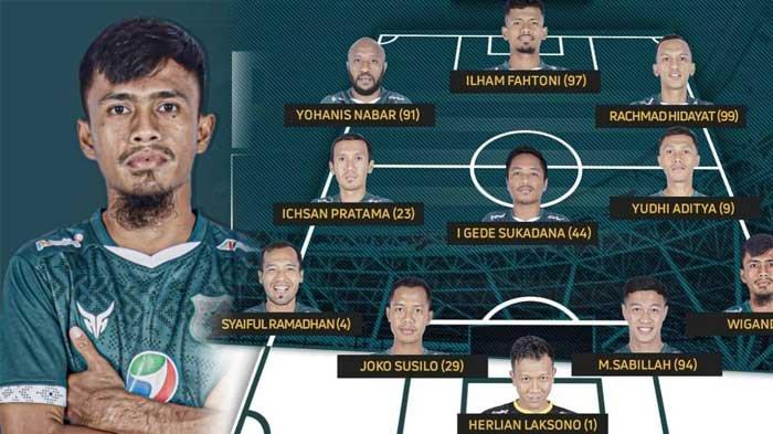 Starting XI PSMS Medan Lawan Semen Padang, Pelatih Turunkan Anis Nabar, Rachmad Hidayat, dan Fathoni