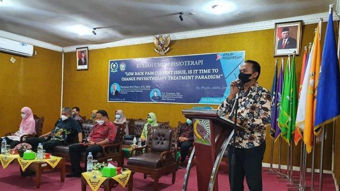 STIKes Baiturrahim Gelar Kuliah Umum Bersama Ketua Umum Ikatan Fisoterapi Indonesia