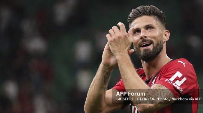 Opsi Lini Serang AC Milan Banyak PilihanSetelah Giroud dan Ibrahimovic Kembali