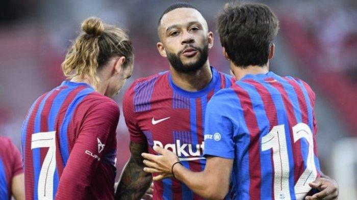 Barcelona Orbitkan Wonderkid dan Berharap Memphis Depay Gantikan Lionel Messi