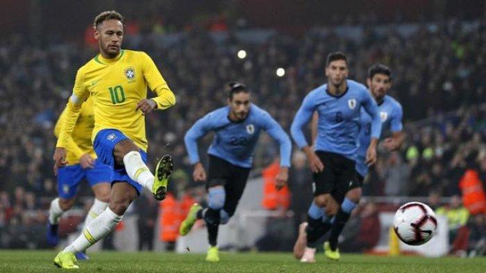 JADWAL Kualifikasi Piala Dunia 2022 Zona Conmebol, Brasil vs Uruguay, Ini Starting XI Kedua Tim