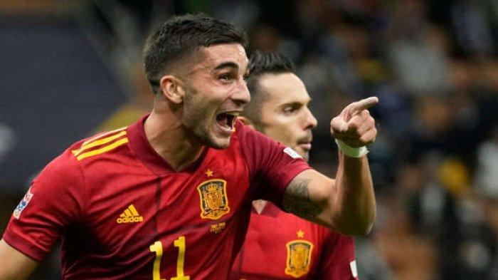 LINK NONTON Final UEFA Nations League Spanyol vs Prancis, La Roja Andalkan Torres di Lini Depan