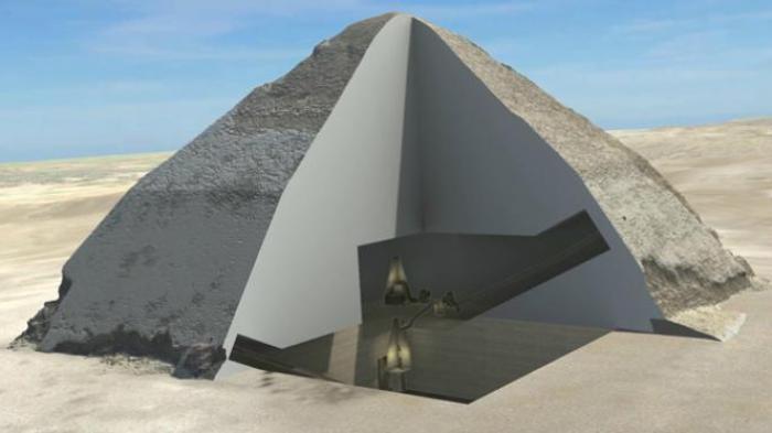 Apa Sebenarnya Isi Piramida Bent, setelah 4.600 Tahun Terungkap Berkat Sinar Kosmik