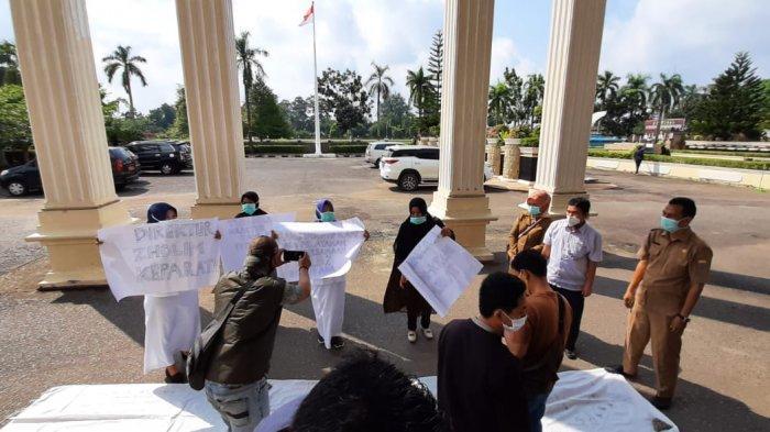 Mengapa Dokter dan Perawat di Kota Jambi Demonstrasi, Terungkap Penyebabnya