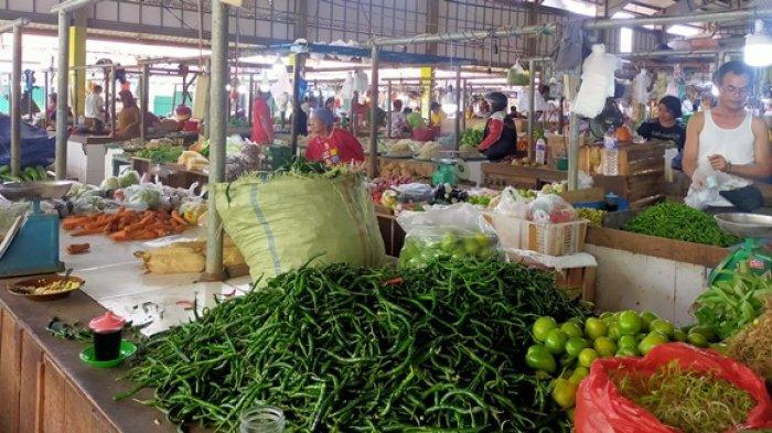 Jelang Libur Suasana Pasar Angso Duo dan Pasar Baru Talang Banjar Sepi