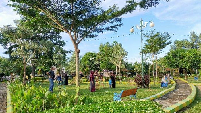 Menikmati Nuansa Alam di Taman Kongkow Kota Jambi