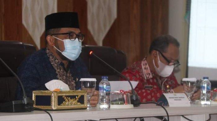 Sekda Pimpin Rapat Persiapan Penyambutan Gubernur dan Wagub Jambi Hasil Pilkda Serentak 2020