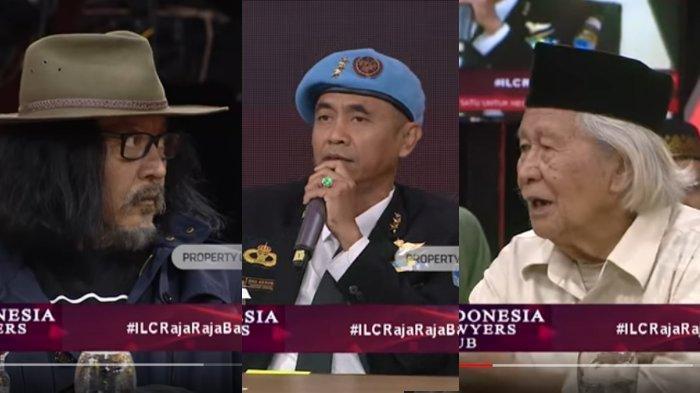 Ekspresi Sudjiwo Tedjo dan Ridwan Saidi yang Melongo Saat Petinggi Sunda Empire Bicara, Ini Videonya