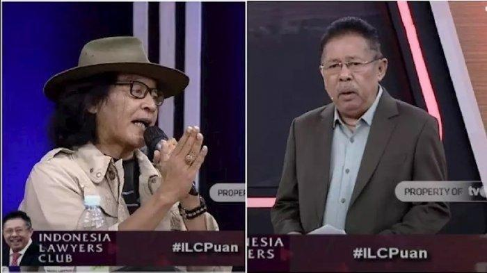 Karni Ilyas Dibuat Tak Berkutik, Sujiwo Tejo Tanya: Mengapa ILC tvOne Lenyap?