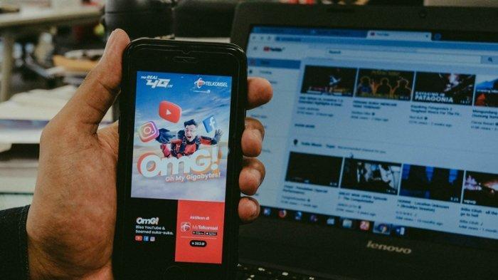 Suka-suka Akses YouTube dan Sosmed dengan Paket Kuota OMG