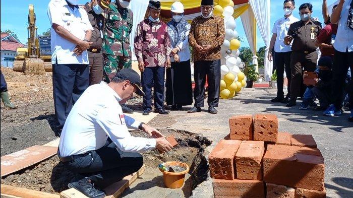 Pembangunan Gedung Poliklinik RSUD Tebo Senilai Rp36 Miliar Mulai Dikerjakan