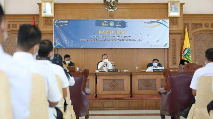 Bupati Tebo Sukandar Minta Reforma Agraria Tepat Sasaran
