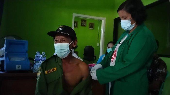 Vaksinasi Efektif Tekan Risiko Kematian dan Perawatan, SAD di Muaro Jambi Antusias Divaksin