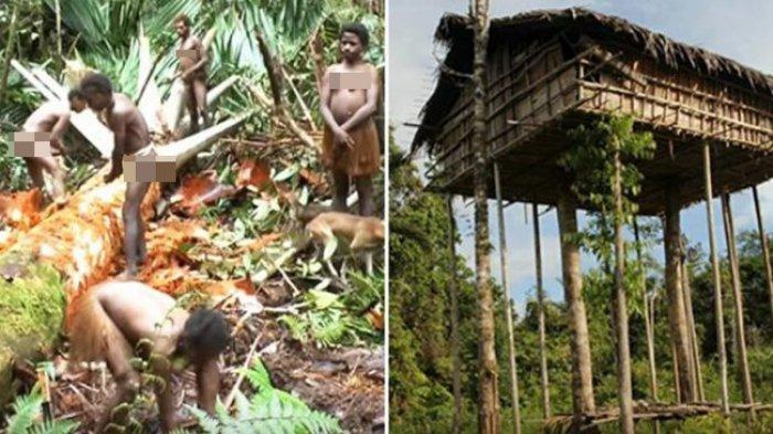 Korowai Suku Asli Papua ini jadi Etnis Terpencil di Dunia yang Masih Memakan Daging Manusia