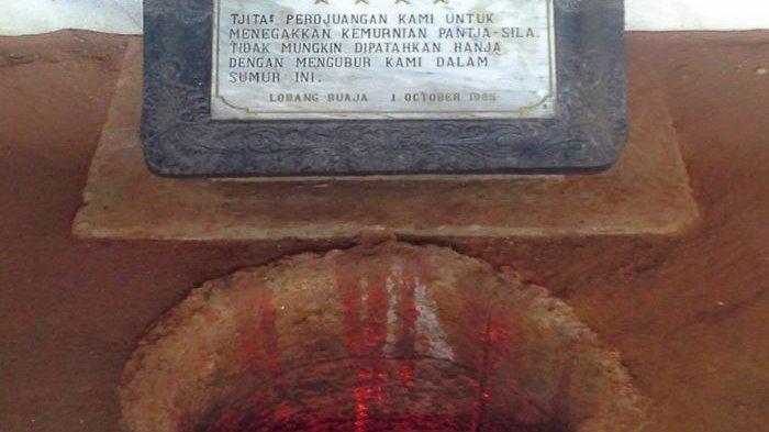 Legenda Buaya Putih di Sumur Maut Lubang Buaya Tempat Para Jenderal Korban G30S PKI Dikubur