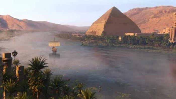 Misteri Sungai Nil Terungkap, Antara Piramida Firaun dan Pengetahuan Kuno
