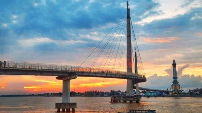 Inilah 3 Tempat Wisata di Kota Jambi, Cocok sebagai Lokasi Berburu Sunset Sore Hari
