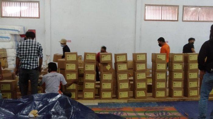 Surat Suara Pilgub Jambi dan Pilkada Tanjab Timur Masih Disortir, Siapkan 20 Orang Tenaga Sortir