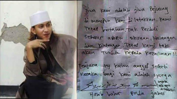 Surat Habib Bahar Beredar di Media Sosial Isinya Tentang Perjuangan, Begini Kondisinya di Penjara