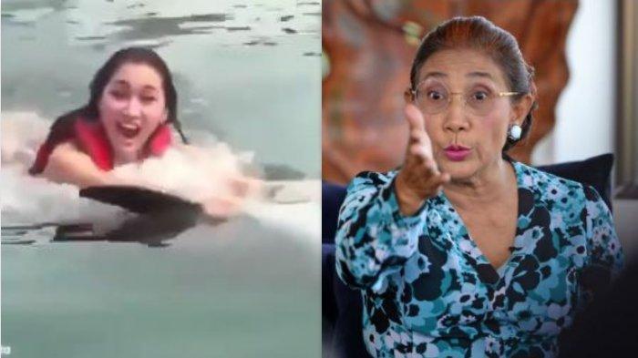 Emosi Susi Pudjiastuti Meledak Imbas Perangai Lucinta Luna Tarik Lumba-lumba dengan Ini: Kebodohan!