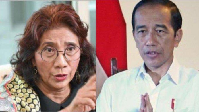 Dituding Melawan Presiden Joko Widodo, ini Reaksi Susi Pudjiastuti