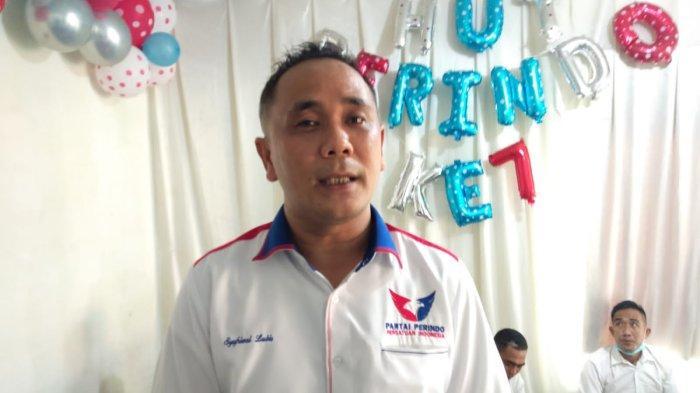 Syafrizal Lubis Targetkan Partai Perindo di Tanjab Barat Dapat 5 Kursi DPRD